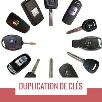 reproduction clé voiture