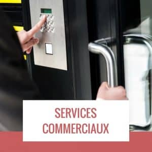 services commerciaux