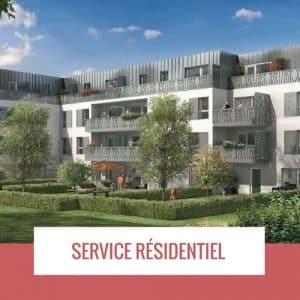service résidentiel