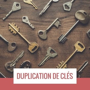 reproduction de cle louvain